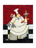 Crimson Chef II Giclee Print by Jennifer Garant