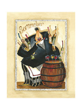 Days of Wine I Giclée-Druck von Jennifer Garant