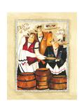 Days of Wine II Reproduction procédé giclée par Jennifer Garant