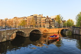 Keizersgracht Canal, Amsterdam, Netherlands, Europe Photographic Print by Amanda Hall