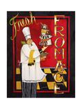 Fromage Reproduction procédé giclée par Jennifer Garant