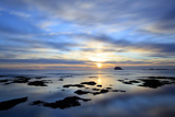 Bass Rock at Dawn, North Berwick, Scotland, UK, August. 2020Vision Book Plate Fotografie-Druck von Peter Cairns