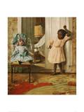 Fascination, 1902 Giclée-tryk af P. Peres