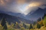 Rock of the King, Piatra Craiului National Park, Transylvania, Carpathian Mountains, Romania Photographic Print by  Dörr