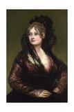 Dona Isabel De Porcel Reproduction procédé giclée par Suzanne Valadon