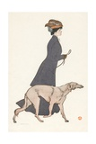 The Morning Stroll Giclee Print by Edward Penfield