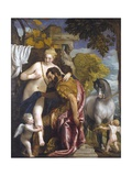Mars and Venus United by Love Giclée-tryk af Paolo Veronese