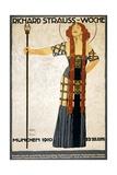 Richard Strauss-Woche Poster Gicléetryck av Ludwig Hohlwein