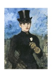 Horsewoman, Fullface Giclee Print by Edouard Manet