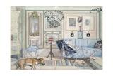 Cosy Corner Giclée-tryk af Carl Larsson