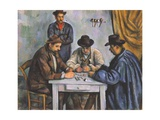 The Card Players Reproduction procédé giclée par Paul Cézanne