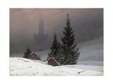 Winter Landscape Giclée-Druck von Caspar David Friedrich
