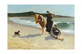 Eagle Head, Manchester, Massachusetts (High Tide) Giclée-tryk af Winslow Homer