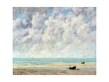 The Calm Sea Reproduction procédé giclée par Gustave Courbet