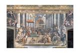 The Donation of Constantine Reproduction procédé giclée par  Raphael