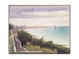 Grandcamp, Un Soir (Grandcamp, Evening) Reproduction procédé giclée par Georges Seurat