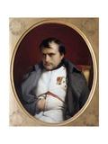 Napoleon in Fontainebleau Lámina giclée por Paul Delaroche