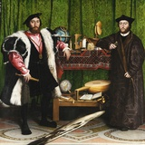 Les ambassadeurs Reproduction procédé giclée par Hans Holbein the Younger
