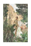 Nudes Swimming in a Lake Giclée-tryk af Anders Leonard Zorn