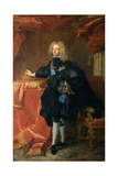 Philip V, King of Spain Giclee Print by Hyacinthe Rigaud
