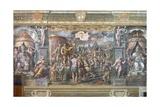 Constantine's Vision of the Cross Reproduction procédé giclée par  Raphael