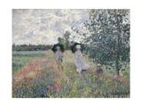 Promenade Pres D'Argenteuil Giclee Print by Claude Monet