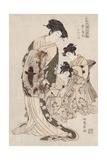 Hinagata Wakana No Hatsu Moyo Giclee Print by Isoda Koryusai