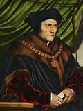 Sir Thomas More Giclee-trykk av Hans Holbein the Younger