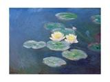Nympheas: Sun Effects Giclée-Druck von Claude Monet