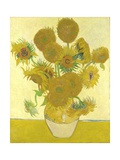 Vase with Fifteen Sunflowers Giclee Print by Vincent van Gogh
