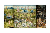 The Garden of Earthly Delights Giclée-tryk af Hieronymus Bosch