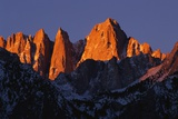 Morning Light on Mount Whitney Photographic Print by Paul Souders