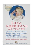 Little Americans Do Your Bit Poster Giclée-vedos