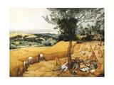 Les moissonneurs Reproduction procédé giclée par Pieter Bruegel the Elder