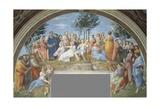 Parnassus Reproduction procédé giclée par  Raphael