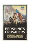 Pershing's Crusaders Poster Reproduction procédé giclée