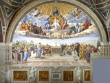 Disputation of the Holy Sacrament Giclee-trykk av Raphael,
