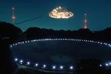Radio Telescope in Puerto Rico Fotografie-Druck von Roger Ressmeyer