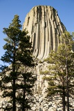 Devils Tower National Monument in Wyoming Lámina fotográfica por Paul Souders
