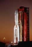 Commercial Titan III on Launch Pad Photographic Print by Roger Ressmeyer