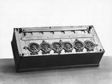 Blaise Pascal Calculating Machine Lámina fotográfica