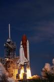 Space Shuttle Discovery Lifting Off Impressão fotográfica por Roger Ressmeyer