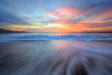 Sunset Paint, California Coast Photographic Print by Vincent James