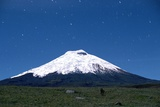 Stars over Cotopaxi Volcano Photographic Print by Roger Ressmeyer