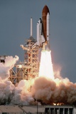 Space Shuttle Columbia Launching on Sts-9 Fotografie-Druck von Roger Ressmeyer