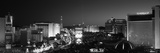 Buildings Lit Up at Night, Las Vegas, Nevada, USA Fotografie-Druck