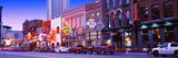 Street Scene at Dusk, Nashville, Tennessee, USA Photographic Print