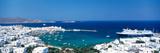 Mykonos Island Greece Fotografisk tryk