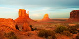 Buttes Rock Formations at Monument Valley, Utah-Arizona Border, USA Fotografisk tryk