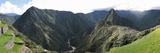 High Angle View of a Valley, Machu Picchu, Cusco Region, Peru Reproduction photographique